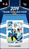 NFL Tennessee Titans Licensed2019 Donruss Team Set