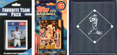 MLB Chicago Cubs Licensed 2020 Topps¬ Team Set and Favorite Player Trading Cards Plus Storage Album