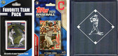 MLB Cleveland Indians Licensed 2020 Topps¬ Team Set and Favorite Player Trading Cards Plus Storage Album