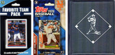 MLB New York Mets Licensed 2020 Topps¬ Team Set and Favorite Player Trading Cards Plus Storage Album
