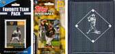 MLB Pittsburgh Pirates Licensed 2020 Topps¬ Team Set and Favorite Player Trading Cards Plus Storage Album
