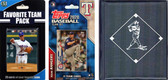 MLB Texas Rangers Licensed 2020 Topps¬ Team Set and Favorite Player Trading Cards Plus Storage Album