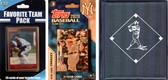 MLB New York Yankees Licensed 2020 Topps¬ Team Set and Favorite Player Trading Cards Plus Storage Album