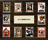 """NFL 15""""x18"""" A.J. Green  Cincinatti Bengals Player Plaque"""
