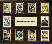 "NFL 15""x18"" Aaron Rodgers Green Bay Packers Player Plaque"