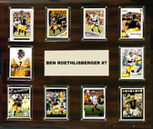 "NFL 15""x18"" Ben Roethlisberger Pittsburgh Steelers Player Plaque"