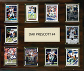 "NFL 15""x18"" Dak Prescott Dallas Cowboys Player Plaque"