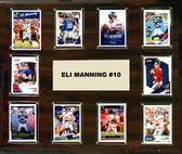 "NFL 15""x18"" Eli Manning New York Giants Player Plaque"