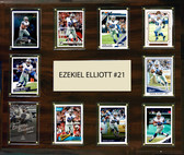 "NFL 15""x18"" Ezekial Elliott Dallas Cowboys Player Plaque"