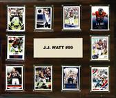 "NFL 15""x18"" J.J. Watt Houston Texans Player Plaque"