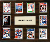 "NFL 15""x18"" Jim Kelly Buffalo Bills Player Plaque"