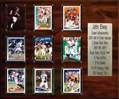 """NFL 15""""x18"""" John Elway Denver Broncos Career Stat Plaque"""