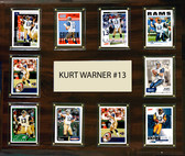 "NFL 15""x18"" Kurt Warner St. Louis Rams Player Plaque"