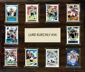 "NFL 15""x18"" Luke Kuechly Carolina Panthers Player Plaque"
