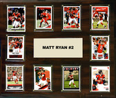 "NFL 15""x18"" Matt Ryan  Atlanta Falcons Player Plaque"