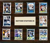"NFL 15""x18"" Matthew Stafford Detroit Lions Player Plaque"