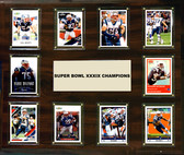 "NFL 15""x18"" New England Patriots Super Bowl 39 - 10-Card Plaque"