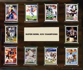 "NFL 15""x18"" New York Giants Super Bowl 25 - 10-Card Plaque"
