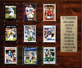 "NFL 15""x18"" Peyton Manning Indianapolis Colts Career Stat Plaque"