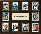 "NFL 15""x18"" Steve Smith Carolina Panthers Player Plaque"