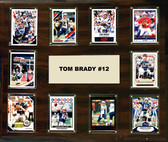 "NFL 15""x18"" Tom Brady New England Patriots Player Plaque"
