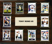 "NFL 15""x18"" Tony Romo Dallas Cowboys Player Plaque"