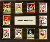 "NFL 15""x18"" Travis Kelce Kansas City Chiefs Player Plaque"