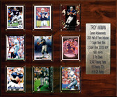 "NFL 15""x18"" Troy Aikman Dallas Cowboys Career Stat Plaque"