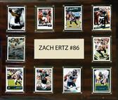 """NFL 15""""x18"""" Zach Ertz Philadelphia Eagles Player Plaque"""