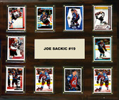 "NHL 15""x18"" Joe Sakic Colorado Avalanche Player Plaque"