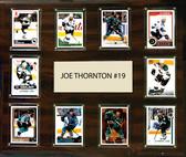 "NHL 15""x18"" Joe Thornton San Jose Sharks Player Plaque"