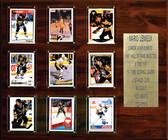 "NHL 15""x18"" Mario Lemieux Pittsburgh Penguins Career Stat Plaque"