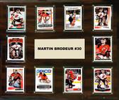 "NHL 15""x18"" Martin Brodeur New Jersey Devils Player Plaque"