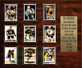 "NHL 15""x18"" Ray Bourque Boston Bruins Career Stat Plaque"
