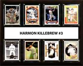 """MLB 12""""x15"""" Harmon Killebrew Minnesota Twins 8 Card Plaque"""