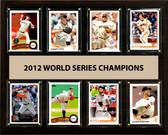"MLB 12""x15"" San Francisco Giants 2012 World Series - 8-Card Plaque"