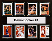 "NBA 12""x15"" Devin Booker Phoenix Suns 8 Card Plaque"