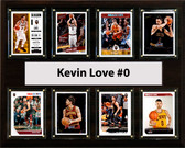 "NBA 12""x15"" Kevin Love Cleveland Cavaliers 8 Card Plaque"