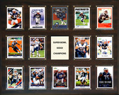 "NFL 16""x20"" New England Patriots Super Bowl 39 - 14-Card Plaque"