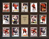 """NHL 16""""x20"""" Jonathan Toews Chicago Blackhawks 14-Card Plaque"""