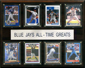 """MLB 12""""x15"""" Toronto Blue Jays All-Time Greats Plaque"""