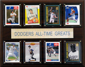 "MLB 12""x15"" Los Angeles Dodgers All-Time Greats Plaque"
