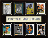 """MLB 12""""x15"""" Pittsburgh Pirates All-Time Greats Plaque"""