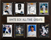 """MLB 12""""x15"""" Chicago White Sox All-Time Greats Plaque"""