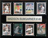 "MLB 12""x15"" Madison Bumgarner San Francisco Giants 8-Card Plaque"