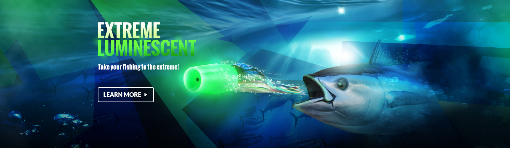 Luminescent Game Fishing Lures