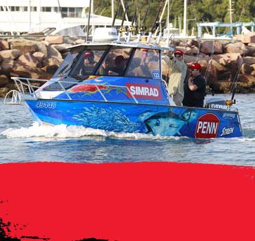 Team Penn Simrad Fishing