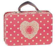 Maileg Metal Suitcase Melon Big Dots