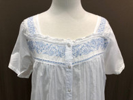 French Country Brunch Cap Sleeve Nightie FCL179