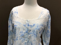 French Country Long Sleeved Nightie FFCE300